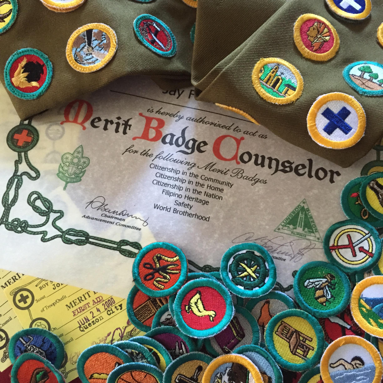 Boy Scout Merit Badges Worksheets