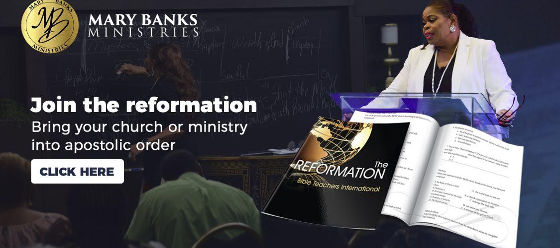 Join the BibleTeachers International reformation