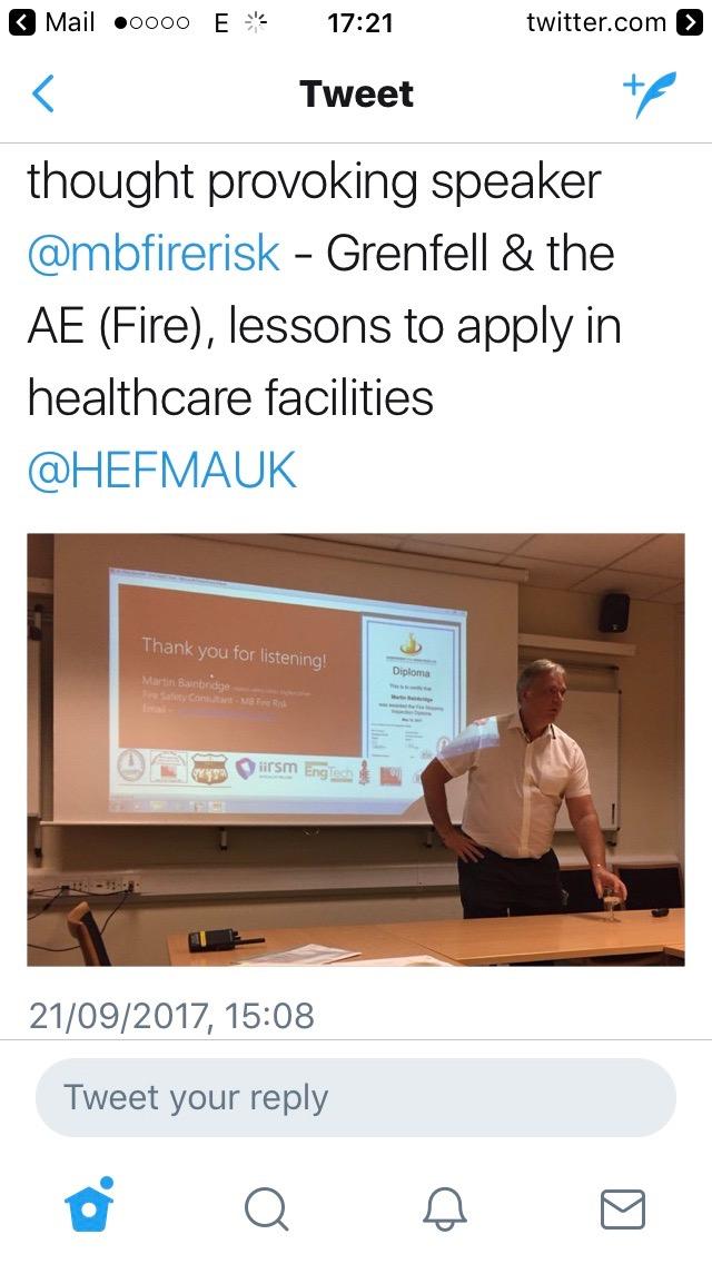hefma fire presentation