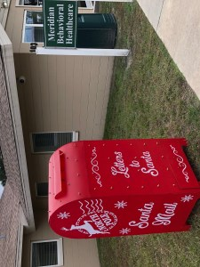 Santa's Mailbox located at 103 NE 1st Street Chiefland Florida