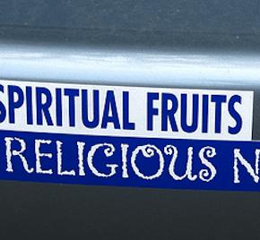 Religious, Not Spiritual