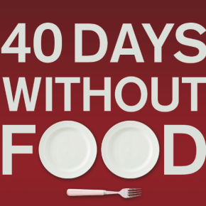 Announcing Russ Masterson's <i>40 Days Without Food: Divine Goodness to a Starving Soul</i>
