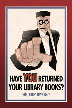 Can you return a library book to any library