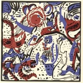 "Vasiliy Kandinsky's ""Great Resurrection (Grosse Auferstehung)"""