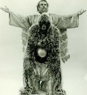 jesus and monkey alien