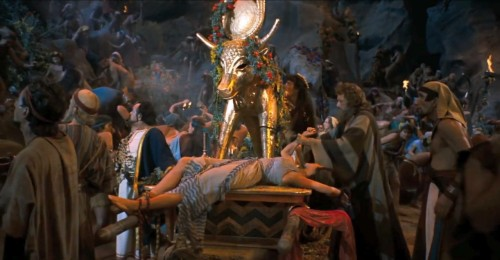 the-golden-calf-idol-from-the-ten-commandments