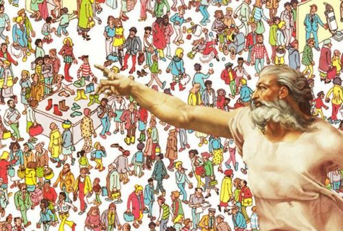 god finding waldo wally