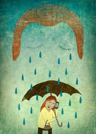 editorial illustration - empathy - rawtoastdesign