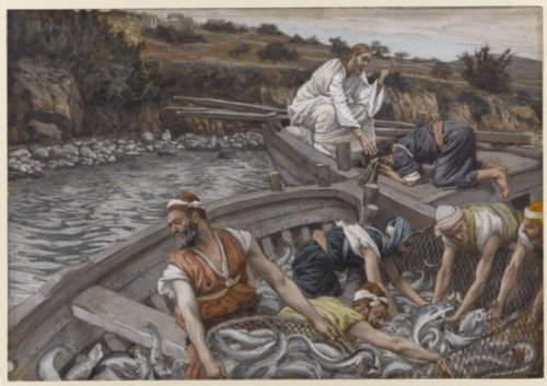 tissot-themiraculousdraughtoffishes