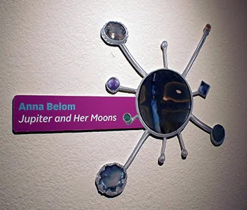 Anna Belom - Jupiter and Her Moons