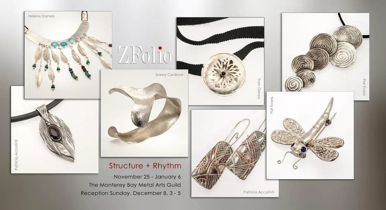 Structure + Rhythm postcard - ZFolio 2013-14