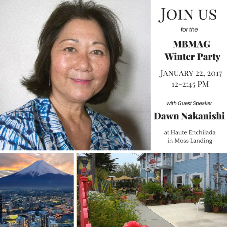 2017 Winter Party - Dawn Nakanishi, guest speaker (click image for map)
