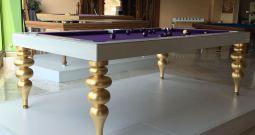 Biliardo tavolo Parigi BTPL029 Gold