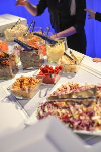 Buffet Station | Catered by Made By Meg