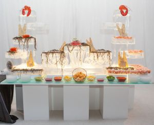 Wedding Buffet Station | Catered by Made By Meg
