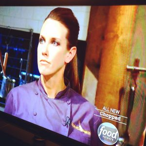 Chef Meg Hall on Chopped, Food Network Show