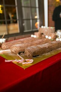 Buche d'Noel | Catered by Made By Meg