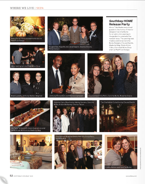 Meg Hall in Southbay Magazine, December 2013 (story)