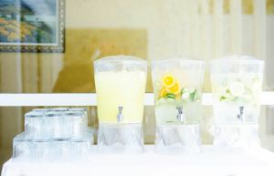 Flavored Water Carafes | Catered by Made By Meg