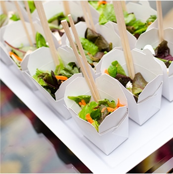 Individual Salads | Catered by Made By Meg