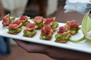 Ahi Tuna with Asian Guacamole | Made By Meg Catering