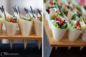 Salad Appetizers | Catered by Made By Meg
