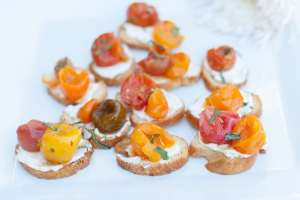 Roasted Tomato Crostinis