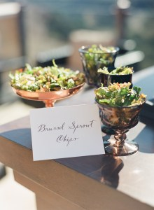 Brussel Sprout Chips | Catered by Made By Meg