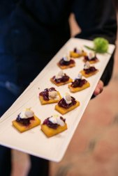 Polenta Squares | Made by Meg Catering