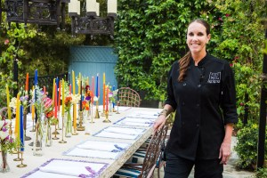 Chef Meg Hall at Private Event
