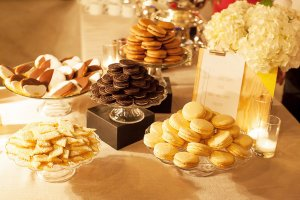 Dessert Station at Wedding Reception at Big Daddy's Antiques