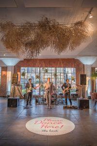 Live Wedding Band Performing at Hudson Loft