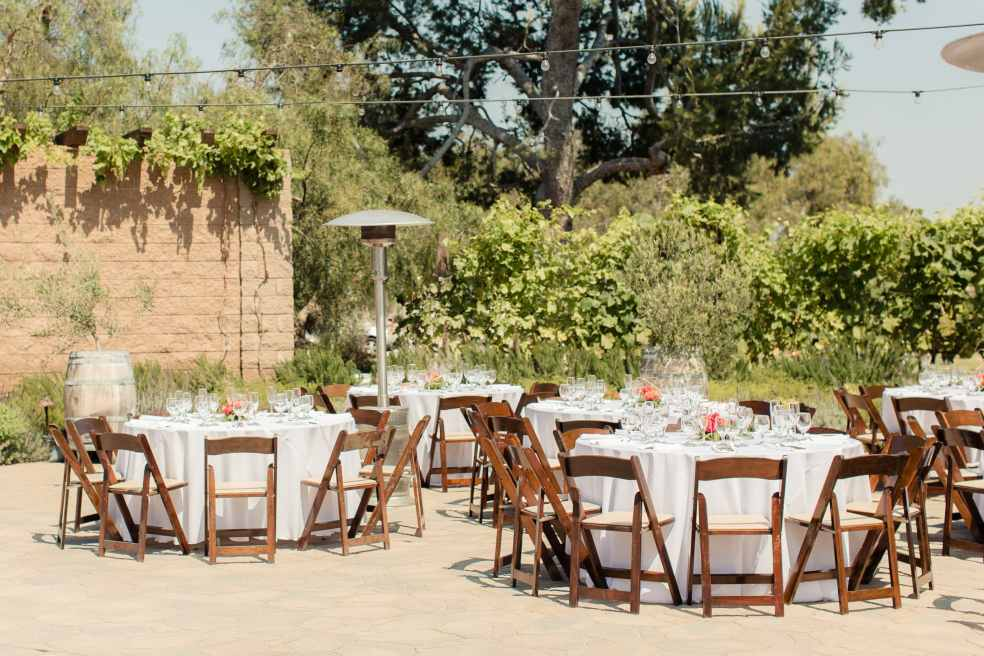 Catalina View Gardens Outdoor Wedding Reception | Catered by Made By Meg