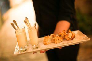 Dessert Tray at Hummingbird Nest Ranch Wedding