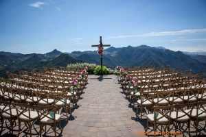 Outdoor Wedding Ceremony at Malibu Rocky Oaks