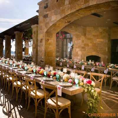 Malibu Rocky Oaks Estate Wedding Catering Ideas