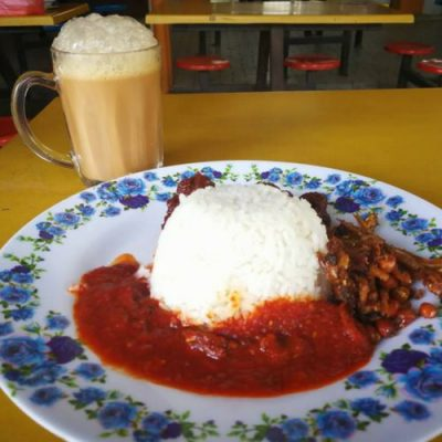Teh Tarik and Nasi Lemak - Best Breakfast Combination