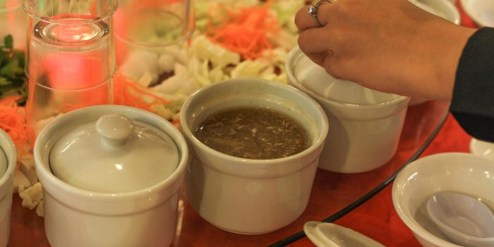 Braised Crab Meat Shark's Fin Soup De Mouth