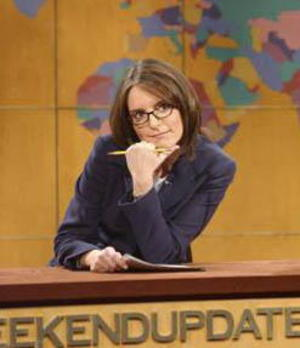 Tina Fey  not Sarah Palin