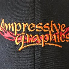 Impressive Graphics Logo On Cap