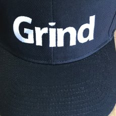 GRIND Business Creative Logo on Hat