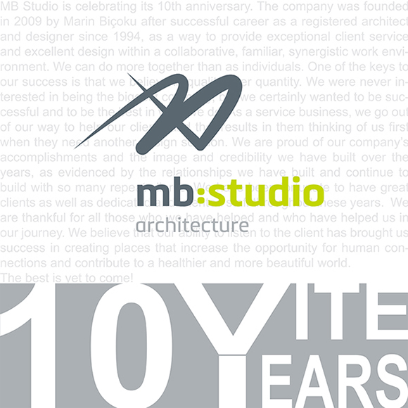 MB STUDIO 10TH ANNIVERSARY