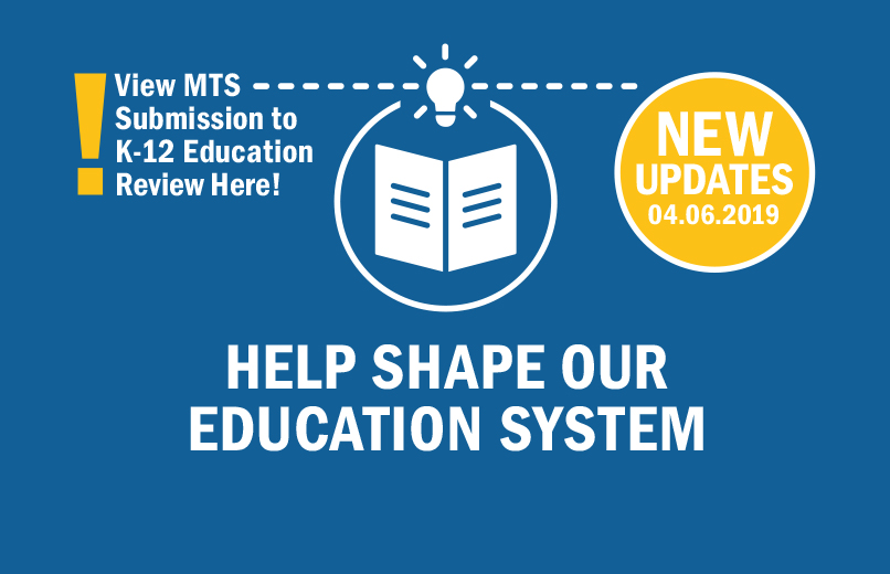K-12 Education Review – The Manitoba Teachers' Society