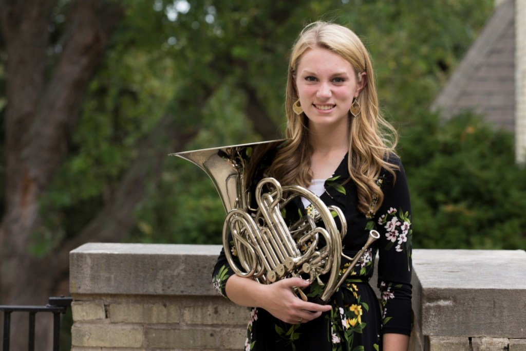 musician with french horn