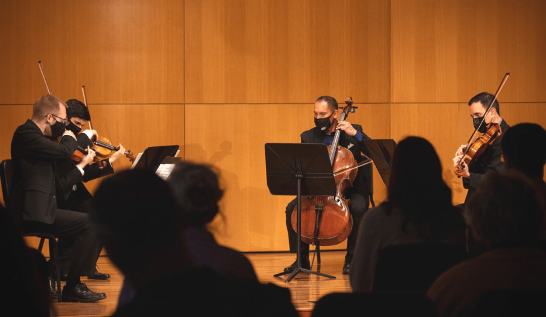 Music on Mondays Features the 414 String Quartet