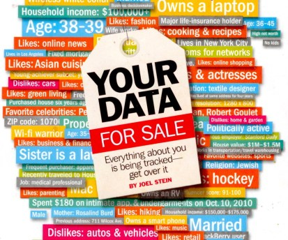 Your data for sale: everything about you is being tracked