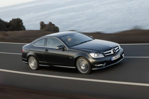 2012 C Class Coupe 16 medium 597x398 Official: 2012 Mercedes Benz C Class Coupe