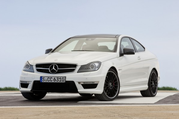 2012 C63 AMG Coupe 1 medium 597x398 Official: The new C63 AMG Coupe with 451hp
