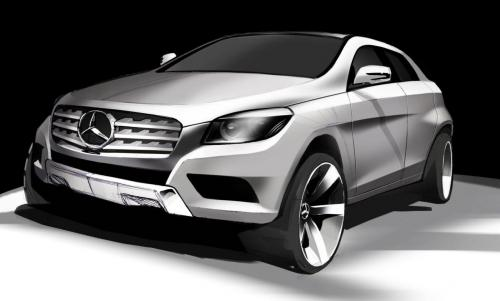 MLC SUV COupe Mercedes MLC SUV Coupe to be Produced in Tuscaloosa Plant