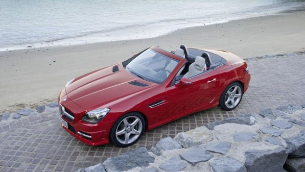 Mercedes Benz SLK Roadster 597x337 US Gasoline Not Clean Enough for New Merc Engines